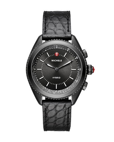 38mm Blackened Hybrid Smartwatch