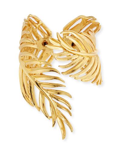 Palm Leaf Cuff Bracelet
