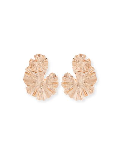 Wildflower Statement Clip-On Earrings