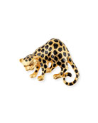 Cheetah Statement Brooch
