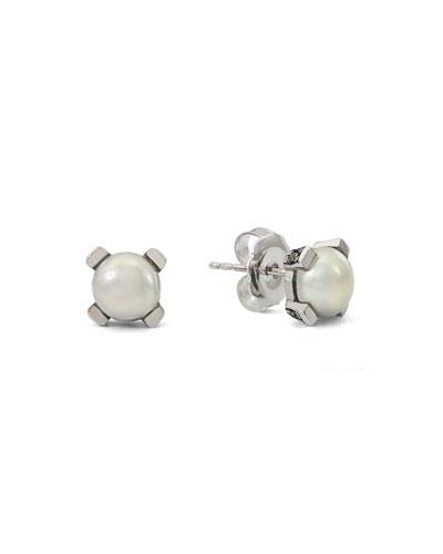 Pearly Stud Earrings