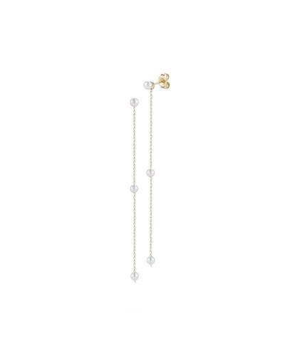 Pearl Chain Drop Earrings