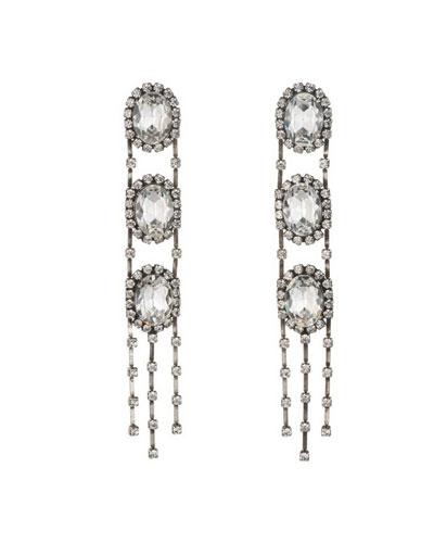 Ladie Crystal Statement Earrings