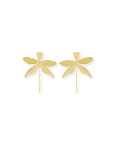 Articulated Dragonfly Earrings