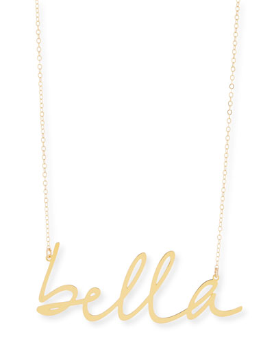 Brevity Babe Small Pendant Necklace 2qJWJ66n