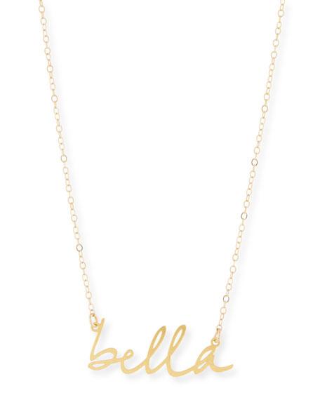 Brevity Bella Small Pendant Necklace