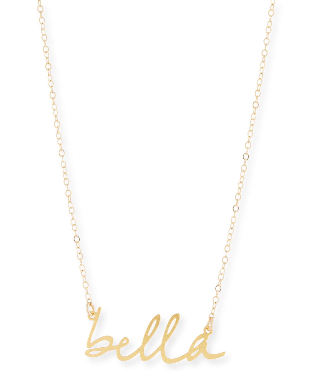 Bella Small Pendant Necklace