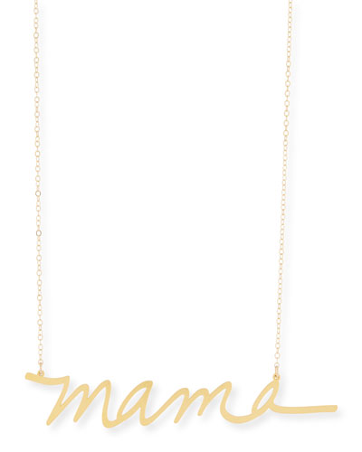 Brevity XOXO Large Pendant Necklace iSGt5aBW