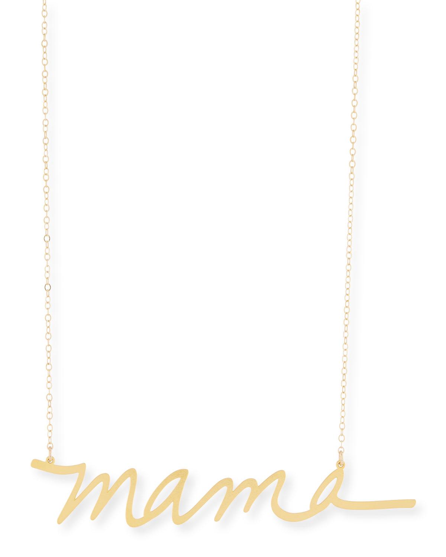 Mama Large Pendant Necklace