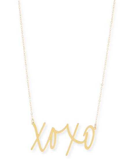 Brevity XOXO Large Pendant Necklace