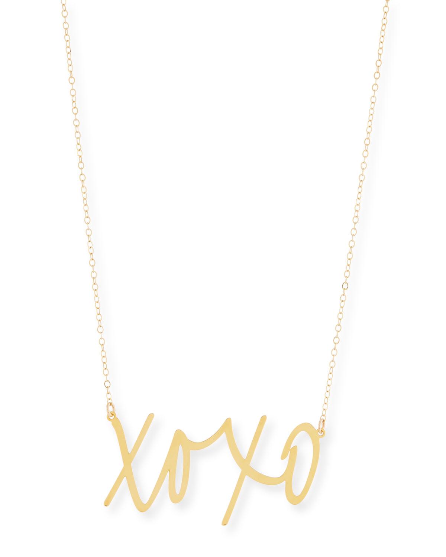 XOXO Large Pendant Necklace