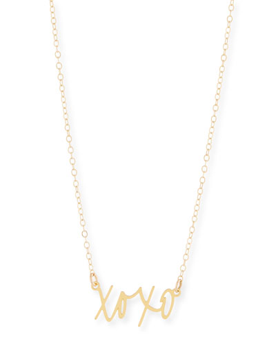 XOXO Small Pendant Necklace