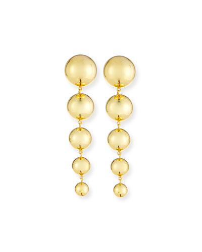 Newport Tiered Bead Drop Earrings