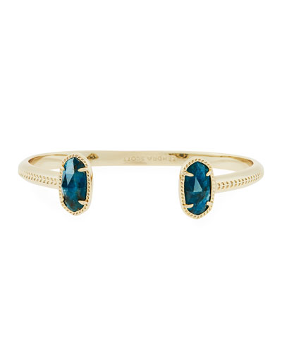 Elton Statement Bracelet, Blue