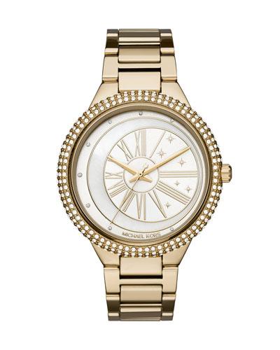 Taryn Celestial Yellow-Golden Bracelet Watch