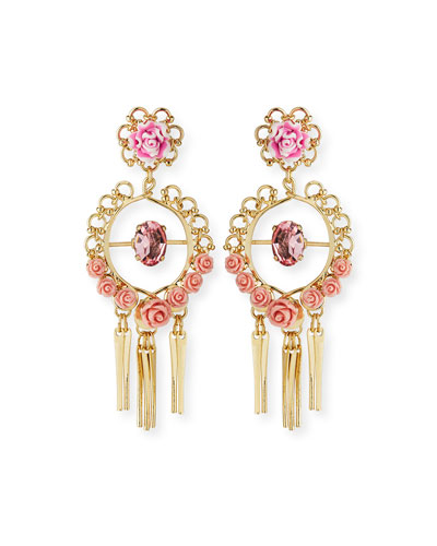 Samara Golden Statement Earrings