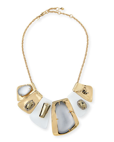Large Articulated Bib Necklace