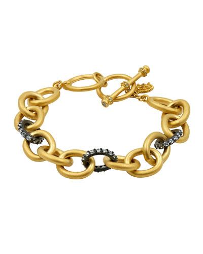 Signature Heavy Link Bracelet