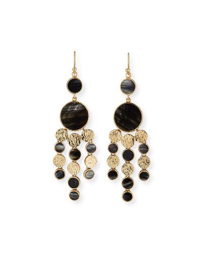 Black chandelier earring neiman marcus quick look akola circle chandelier earrings available in black aloadofball Gallery