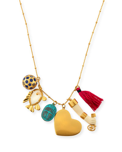 Mixed Charm Necklace