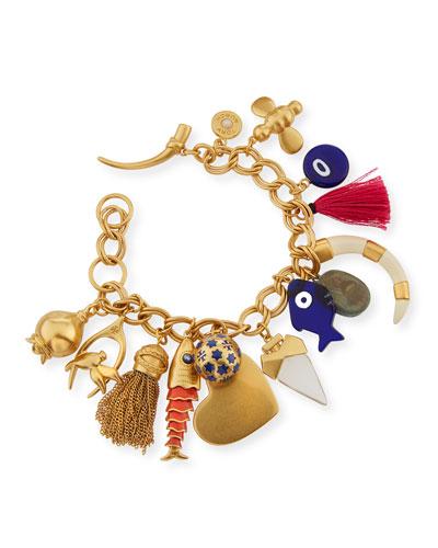 Mixed Charm Bracelet