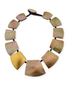 Straza Mother-of-Pearl Station Necklace