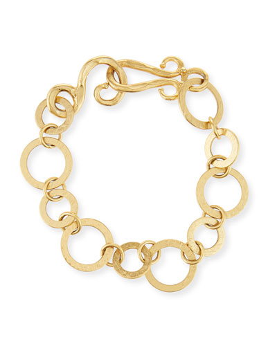 Regency Golden Link Bracelet