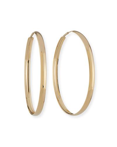 14k Curve Magic Hoop Earrings