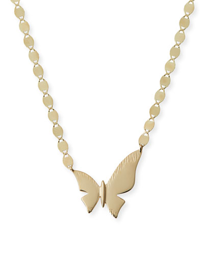 14k Charmed Small Butterfly Necklace