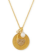 Heart Charm Talisman Necklace