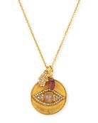 Evil Eye Charm Talisman Necklace
