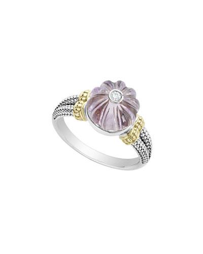 18k Caviar™ Forever Bead Ring