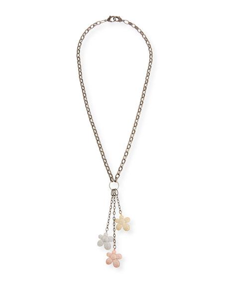 Hipchik Magnolia Charm Necklace