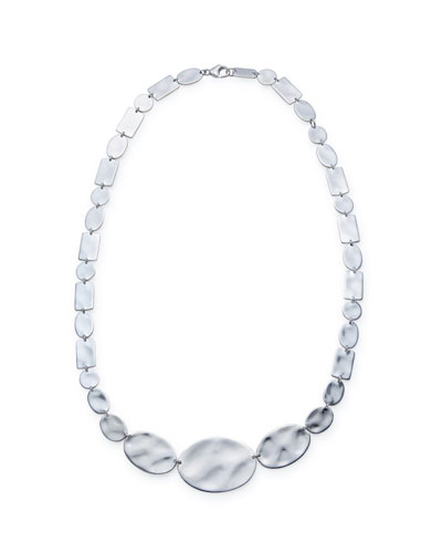 925 Senso™ Oval & Rectangle Necklace, 16-18