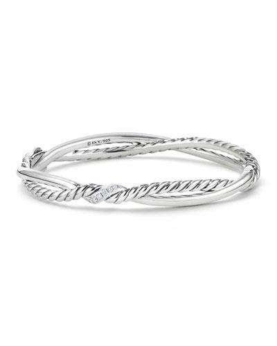 Continuance Diamond Twist Bracelet