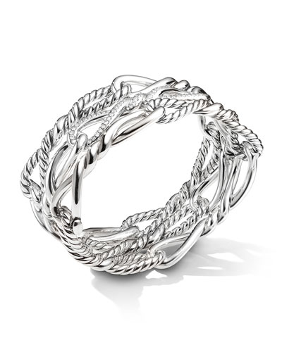 Continuance Multi-Row Cuff w/ Diamonds