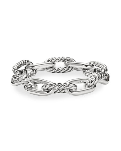 Madison Women's Large Chain Link Bracelet, 13.5mm