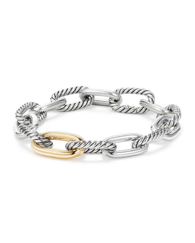 Madison 18k Woman's Medium Chain Link Bracelet