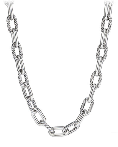 Madison Chain 13.5mm Large Link Necklace, 16