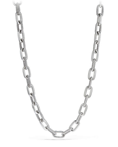 Madison Chain 11mm Medium Link Necklace, 18