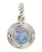 Rainbow Moonstone Moon Amulet