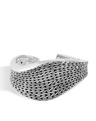 Classic Chain Wave Kick Cuff Bracelet