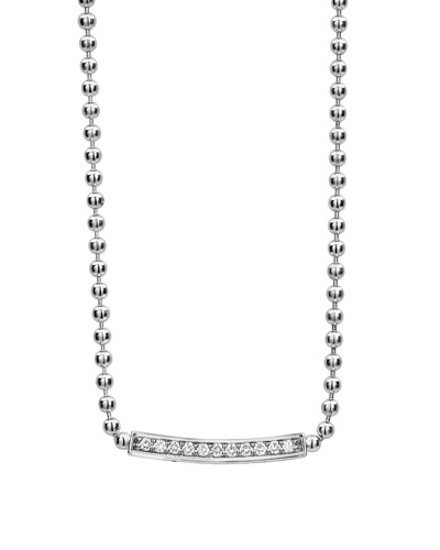 Caviar™ Spark Diamond Ball-Chain Necklace, 0.28tcw