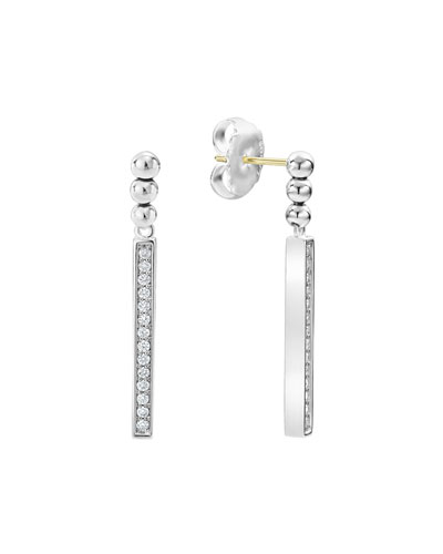 Caviar™ Spark Diamond Small Linear Drop Earrings