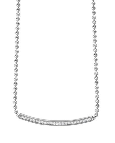 Caviar™ Spark Diamond Ball-Chain Necklace