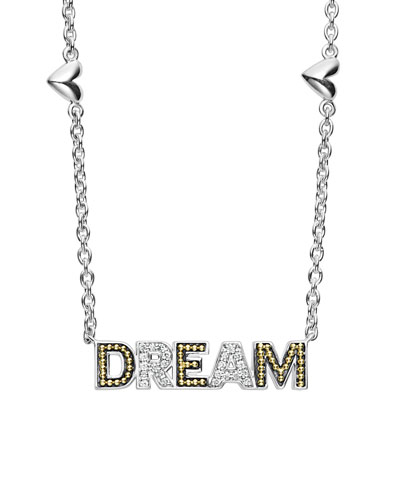 Diamond Caviar™ DREAM Pendant Necklace