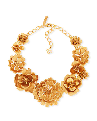 Blooming Bold Flower Necklace