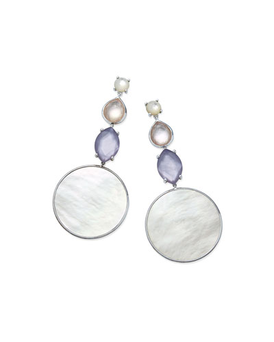 Wonderland Long Multi-Drop Doublet Earrings in Primrose