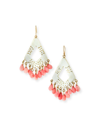 Mashua Light Horn Drop Earrings