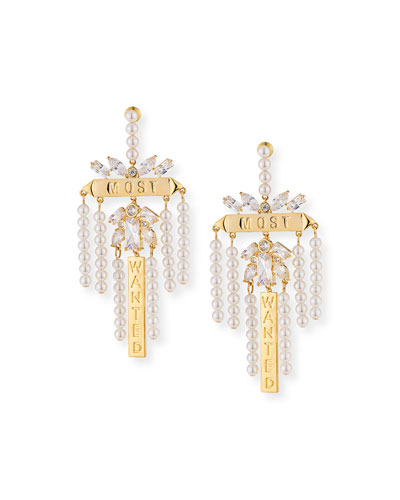 Monarch Most Wanted Drop Earrings